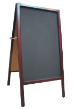 Durable wooden finished frame at a size to really get your message noticed.  Use your favorite color chaulk on the sign to get those customers into your business.