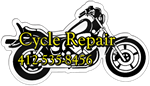 Motorcycle Shaped Magnet