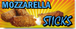 Mozzarella Sticks Banner