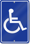 Handicapped Symbol Sign