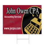 Accountant Sign