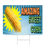 Amazing Sweet Corn Sign
