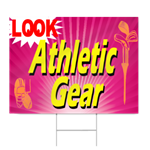 Athletic Gear Sign