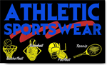 Athletic Sportswear Banners