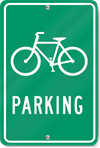 Bicycle Parking (Bicycle Graphic)