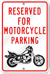 Reserved Motorcycle Parking (Graphic)