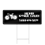 Bicycle Popout Shaped Sign