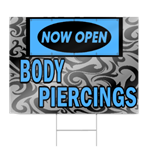Body Piercings Sign