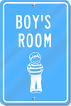 Boy's Room Custom Sign