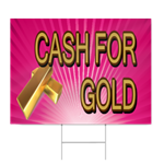 Cash For Gold Sign