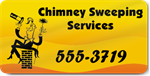 Chimney Sweeping Services Magnet