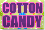 Fair Cotton Candy Banners