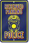 Police Novelty Sign