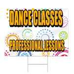 Dance Classes Sign
