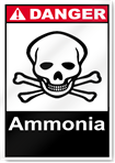 Ammonia Danger Signs