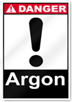 Argon Danger Signs