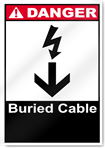 Buried Cable Danger Signs