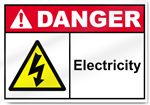 Electricity Danger Signs