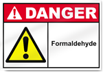 Formaldehyde Danger Signs