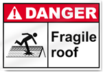 Fragile Roof Danger Signs