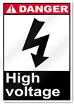 High Voltage3 Danger Signs