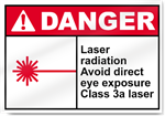 Laser Radiation Avoid Direct Eye Exposure Danger Signs