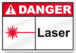 Laser Danger Signs