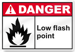 Low Flash Point Danger Signs