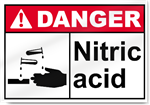 Nitric Acid Danger Signs
