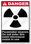 Pacemaker Wearers Do Not Enter This Room Danger Signs