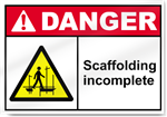 Scaffolding Incomplete Danger Signs