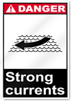 Strong Currents Danger Signs