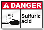 Sulfuric Acid Danger Signs
