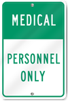 Medical Personnel Only