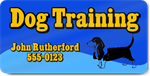 Dog Training Magnet