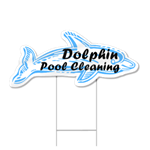 Dolphin Shaped Sign