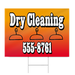 Dry Cleaning Sign