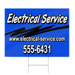 Electrical Service Sign