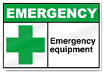 Emergency Equipment Emergency Signs
