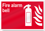 Fire Alarm Bell Fire Signs