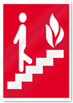 Fire Escape Fire Signs