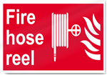 Fire Hose Reel Fire Signs