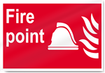 Fire Point Fire Signs
