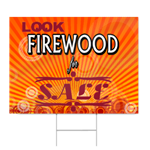 Firewood For Sale Sign