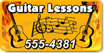 Guitar Lessons Magnet