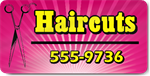 Haircuts Magnet