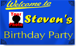 Birthday Banners with Photograph