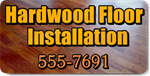 Hardwood Floor Installation Magnet
