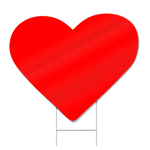 Heart Shaped Sign