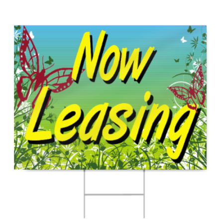 Apartment Now Leasing Sign Signstoyou Com